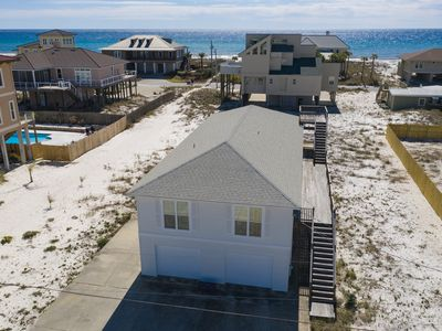 Photo for Open spaces in this beautiful home on Pensacola Beach!