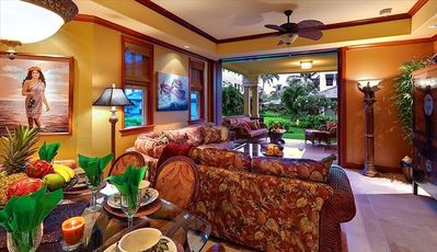 "Kolea Villa 9A ""Slice of Heaven"" ~ Great Room/Dining & Lanai with Kit/BBQ!"