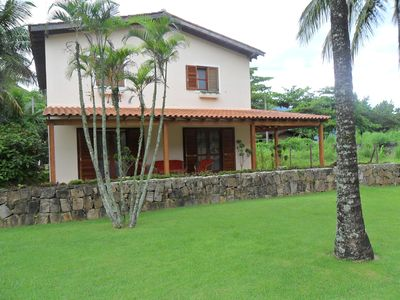 Photo for Newly built house, with everything new, near the sea, for 12 people.