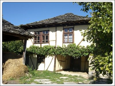 Timber framed house near Apriltsi beautifull conserved with modern bathroom.