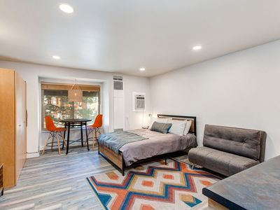 Photo for Ideally located, updated studio w/ shared seasonal pool, year-round hot tub!