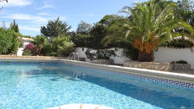 Photo for Villa with huge private pool and fantastic sea views in a quiet top location