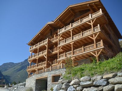 Photo for Adelaide B9, Grimentz – Luxury penthouse apartment, 200 metres to the piste