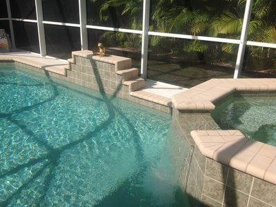 Photo for It's Tiki Time! Enjoy VERY PRIVATE heated pool w/spa, walk or bike to beaches!