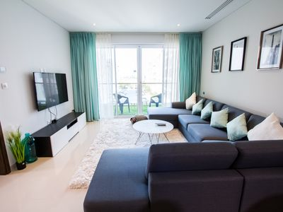 Photo for Modern, Bright Apartment @ Al Mouj with Gym & Pool