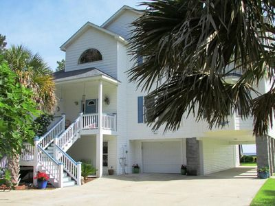 Photo for Charming waterfront home and only 17 min from the town of Beaufort