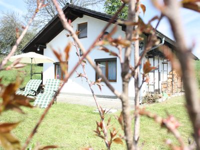 Photo for Cozy cottage with terrace 100 meters from the forest with hiking and biking trails