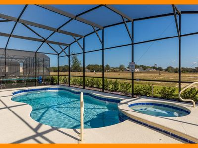 Photo for Solterra Resort 18 - Luxury villa with private pool & game room near Disney