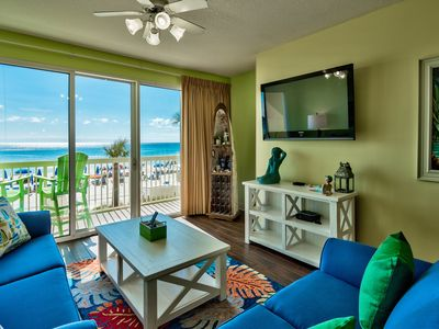 Photo for 1st Floor-3 BR/2 BA - Quiet End of the Beach- Gulf Front Master!