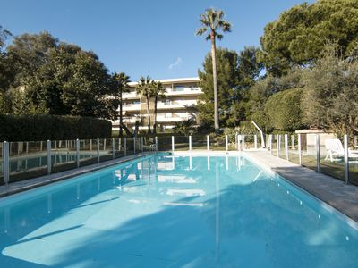 Photo for LA PALMERAIE Apartment in residence with swimming pool 2 steps from the beaches