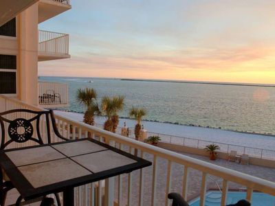 Photo for Time to Relax and Enjoy the Sunset/Ocean Views on the Balcony!