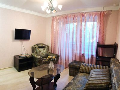 Photo for Comfortable apartment for two persons in the center of Kyiv