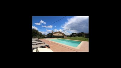 Photo for 7 bedroom Villa, sleeps 17 in Casserres with Pool and WiFi