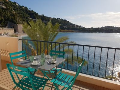 Photo for Superb sea view & Terrace on the seafront