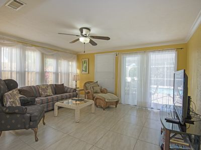 Photo for *Great Location*Walk To  Beach*Heated Pool*Grill*Free WiFi*Beach Supplies*AC