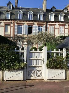 Photo for As a small house with garden, center Deauville between the Royal & Normandy