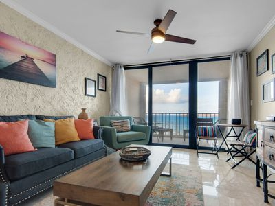 Photo for Sapphire Beach Escape-Modern/Fully Furnished/Walk to Beach/Amazing Views💥HGTV💥