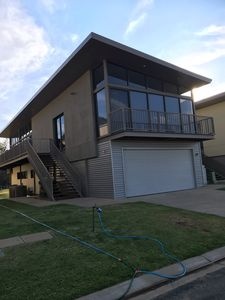 Photo for Absolutely Murray river frontage unit 32 Deep Creek marina Moama