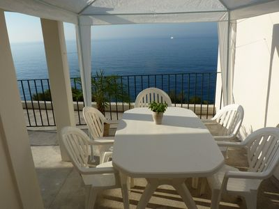 Photo for ROQUEBRUNE CAP MARTIN 2 ROOMS WITH LARGE TERRACE, NEAR THE BEACHES