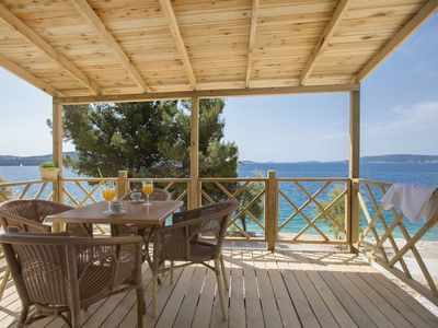 Photo for Comfortable chalet with 2 bathrooms, Trogir at 6km