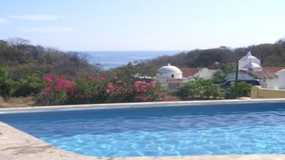 Photo for Best Value Ocean-View Beachfront In Huatulco, Sleeps 6, Beautifully Furnished