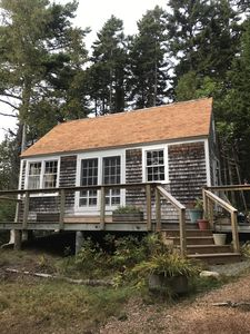 Photo for Acadia Cottage expanded studio with king sleeping loft