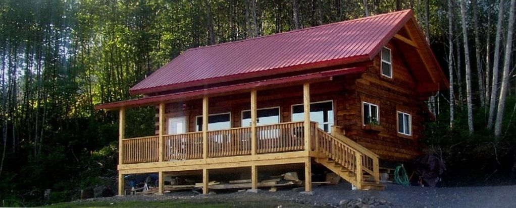 in alaskan vacation realadventures bear alaska ak cabin listings m wooden rentals cabins