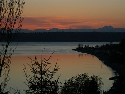Photo for Soundview - a Private Cottage just South of Seattle, with View and Hot Tub