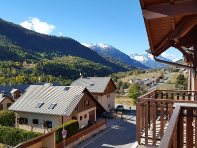 Photo for Apartment T3 closed garage balcony facing south. Valley Serre Chevalier Briançon