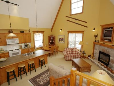 Photo for Gorgeous 4 Bedroom Condo/Chalet in Blue Mountain