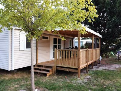 Photo for Camping L'Arbre d'Or **** - Mobile home with air conditioning Grand Confort 3 rooms 6 persons