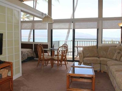 Photo for HK-C3 - Maui Vacation Rental Oceanview Condo on Ma'alaea Bay in a Beachfront, Secluded Resort