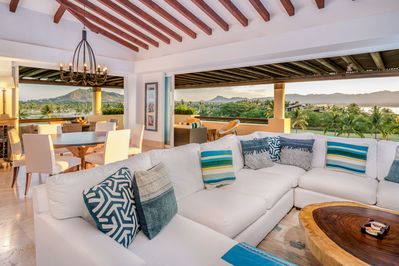 Communal areas with increible views !!!