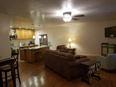 Comfortably furnished living area