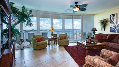 Photo for CARIBE-9th FLOOR-BAY SIDE AWESOME UNIT, GREAT REVIEWS