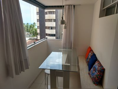 Photo for Modern apartment with 03 rooms, all with sea view! In the best of Maceió