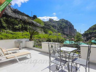 Photo for Living Amalfi: Vineyard House, wonderful and peaceful place with natural views