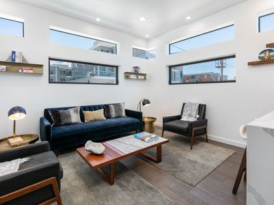 Photo for Modern 2BR/2.5BA Hollywood Smart Home w/ Outdoor Hot Tub - 1 Block to Melrose