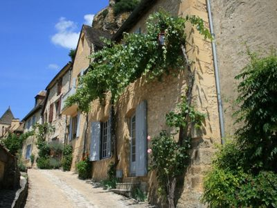 Photo for In the Heart of Beynac Village with Spectacular Castle & River Views