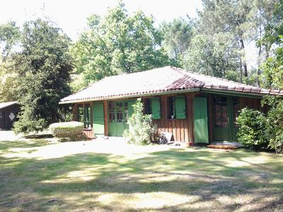 Photo for Quiet charming house in the forest, 10kms from the beach. 5 people
