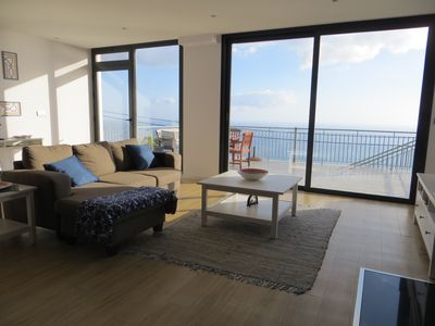 Photo for Peaceful Apartment with view to the Atlantic Ocean