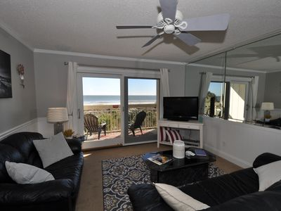 Photo for Immaculate newly remodeled condo.  Direct Oceanfront - 2nd floor.