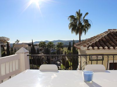 Photo for Guapa Apartment, 1-Bed, Terrace, Pool, Garden, Puebla Aida, Mijas Golf