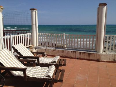Photo for Superb Villa on the sea with direct and exclusive access