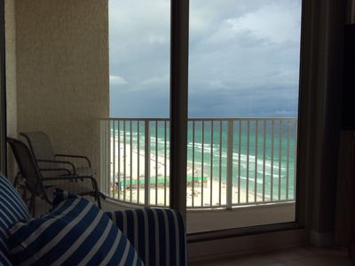 Photo for Free Beach Chairs, Direct Ocean Front W/ Pool View, Corner Unit W/ Wrap Balcony