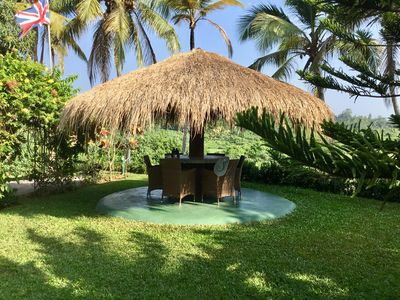 Spectacular views from one of our 3 cabanas
