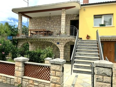 Photo for Apartment in Umag, with terrace, parking, WiFi, near the sea, Top area
