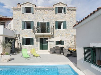 Photo for Villa Karme is located in the old town of Makarska is isolated from noise.