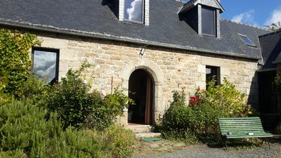 Photo for Beautiful typical Longère family quiet 2km from the sea