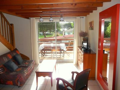 Photo for Saint-Palais-sur-Mer, nice house 2 bedrooms, 5 people, 150 m Nauzan beach